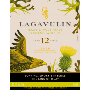 Lagavulin 12 Jahre - Special Release 2020