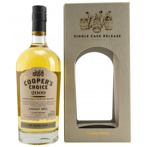 Laggan Mill 2009/2017 The Secret Islay (Vintage Malt Whisky Company - The Coopers Choice)