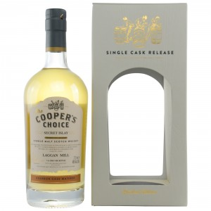 Laggan Mill Secret Islay Bourbon Cask Matured Cask No. 314630 (Vintage Malt Whisky Company - The Coopers Choice)