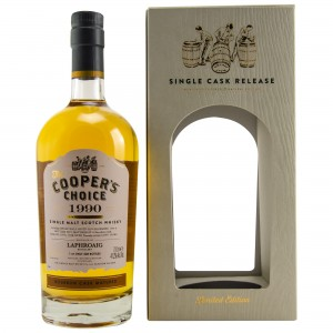 Laphroaig 1990/2018 Bourbon Cask Matured (Vintage Malt Whisky Company - The Coopers Choice)