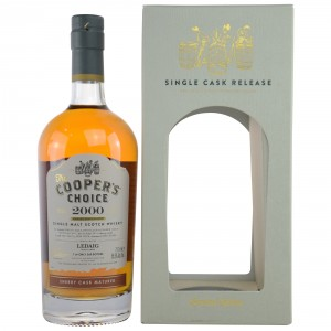 Ledaig 2000/2017 Sherry Cask Matured (Vintage Malt Whisky Company - The Coopers Choice)