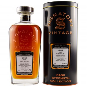 Ledaig 2005/2017 11 Jahre Cask No. 900153 - 1st Fill Sherry Butt (Signatory Cask Strength Collection)