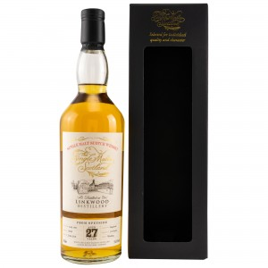 Linkwood 1991/2018 27 Jahre Cask No. 10340 (The Single Malts of Scotland)