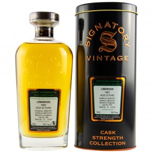 Linkwood 1997/2018 Cask No. 7540 (Signatory Cask Strength)