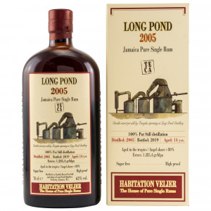 Long Pond 2005/2019 14 Jahre Jamaica Pure Single Rum TECA (Habitation Velier)