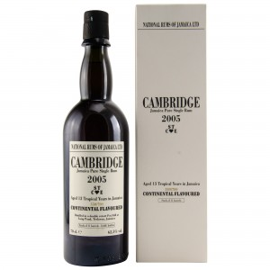 Cambridge 2005/2018 13 Jahre - STCE - Jamaica Pure Single Rum (Long Pond) (Rum)