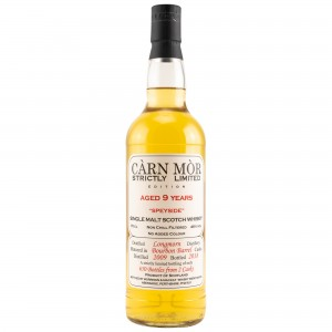 Longmorn 2009/2018 9 Jahre Bourbon Barrels (Carn Mor Strictly Limited)