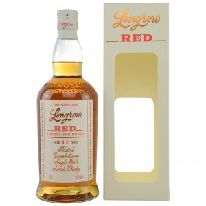 Longrow Red 11 Jahre Cabernet Franc Matured