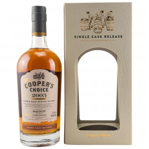 Macduff 2003/2017 Sherry Cask Matured Cask 900221 (The Coopers Choice)
