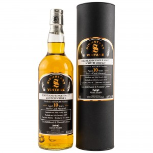 Macduff 2008/2019 Sherry Cask No. 900346 (Signatory Un-Chillfiltered)