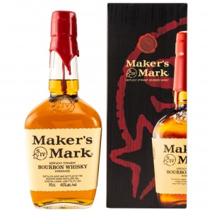 Maker's Mark Kentucky Straight Bourbon Whiskey (mit Geschenkverpackung) (USA)