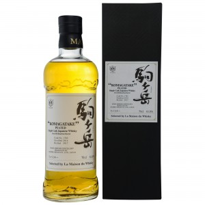 Mars Whisky Komagatake 2014/2017 Peated Single Cask 1782 First Fill Bourbon Barrel (Japan)