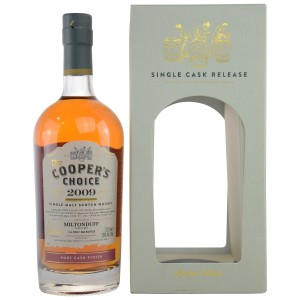 Miltonduff 2009/2016 - Cask No. 9304 Port Cask Finish (Vintage Malt Whisky Company - The Coopers Choice)