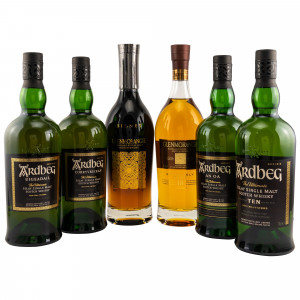 Single Malt Set 6 Flaschen in exklusiver Metallkiste