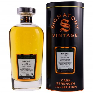 Mortlach 2008/2018 Casks No. 800071+800072 (Bourbon Barrels) (Signatory Cask Strength)