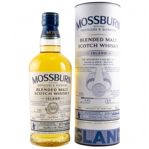 Mossburn Blended Malt - Island - The Mossburn Cask Bill No. 1