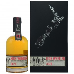 New Zealand Whisky Company 21 Jahre High Wheeler