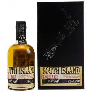 New Zealand  25 Jahre South Island Single Malt