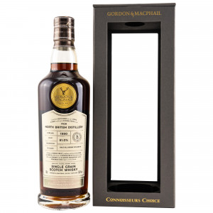 North British 1990/2018 Single Grain Whisky Cask Strength (G&M Connoisseurs Choice)