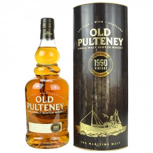 Old Pulteney 1990 Vintage Lightly Peated