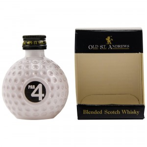 Old St. Andrews Par 4 Blended Scotch Whisky (Miniatur)