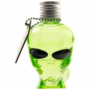 Outerspace Alien Head Vodka (Miniatur)