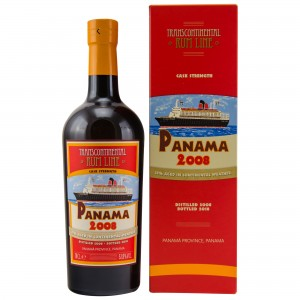 Panama 2008/2018 Cask Strength - Transcontinental Rum Line
