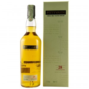 Pittyvaich 28 Jahre Natural Cask Strength