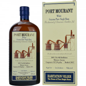 Port Mourant White Guyana Pure Single Rum (Habitation Velier) (Rum) (Guyana)