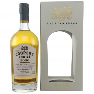 Port Charlotte 2006 (Vintage Malt Whisky Whisky Company - The Cooper's Choice)
