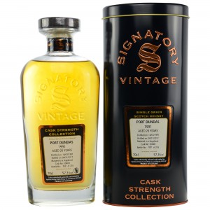 Port Dundas 1991/2017 Cask No. 50408 (Signatory Cask Strength Collection)