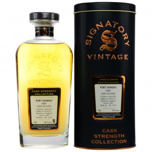 Port Dundas 1991/2017 Cask No. 50407 (Signatory Cask Strength Collection)