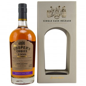 Port Dundas 1999/2018 Marsala Cask Finish Single Cask 968 (Vintage Malt Whisky Company - Coopers Choice)