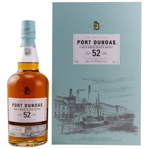 Port Dundas 52 Jahre Single Grain Cask Strength Diageo Special Release 2017