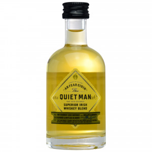 The Quiet Man Superior Irish Whiskey Blend (Miniatur)