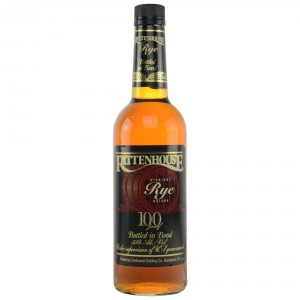 Rittenhouse Straight Rye Whisky 100 Proof (altes Design) (USA: Rye)