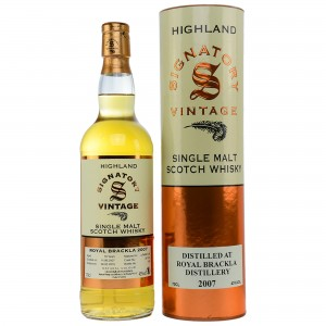 Royal Brackla 2007/2018 Cask No. 307914 (Signatory)