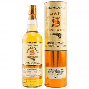 Royal Brackla 2007/2018 Cask No. 307918 (Signatory)