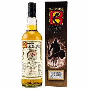 Royal Brackla 2008/2018 10 Jahre Single Cask No. 303590 (Blackadder Raw Cask)