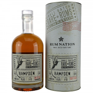Hampden 1992/2016 Rum Nation Small Batch Rare Rums