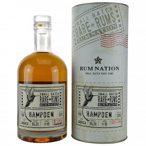 Hampden 1998/2016 Rum Nation Small Batch Rare Rums