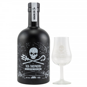 Sea Shepherd Single Malt Whisky Set mit Glas