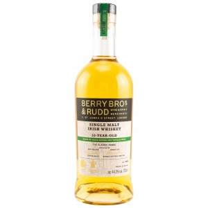 Irish Single Malt Whiskey 10 Jahre The Classic Range (Berry Bros and Rudd)