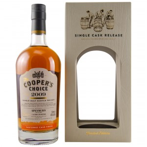 Speyburn 2009/2018 Sauternes Finish Single Cask No. 4579 (The Coopers Choice)