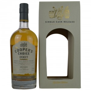 Speyside 2007/2016 Sherry Cask Finish (The Coopers Choice)