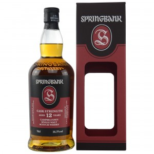 Springbank 12 Jahre Cask Strength 56,3% (Batch 16)