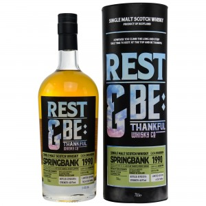 Springbank 1990/2016 Bourbon Cask No. 096 (Rest and be Thankful)