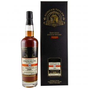 Springbank 2000/2018 18 Jahre Single Sherry Cask No. 63129 (Duncan Taylor Rare Auld Scotch Whisky)