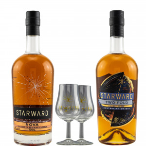 Starward Nova & Two-Fold - Australian Whisky Duo