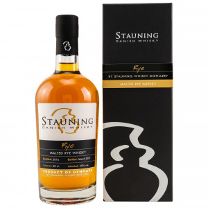 Stauning Rye March 2019 - Danish Whisky